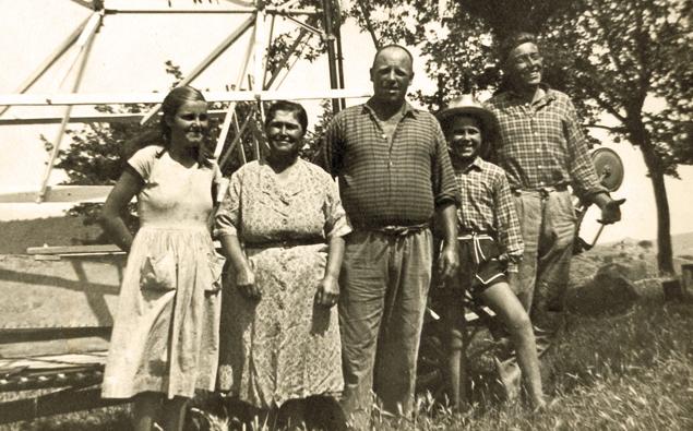 famiglia e storia poggio corbello
